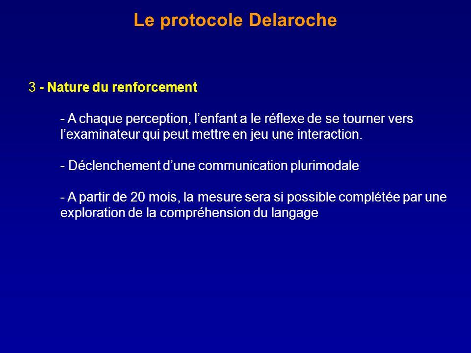 Le protocole Delaroche