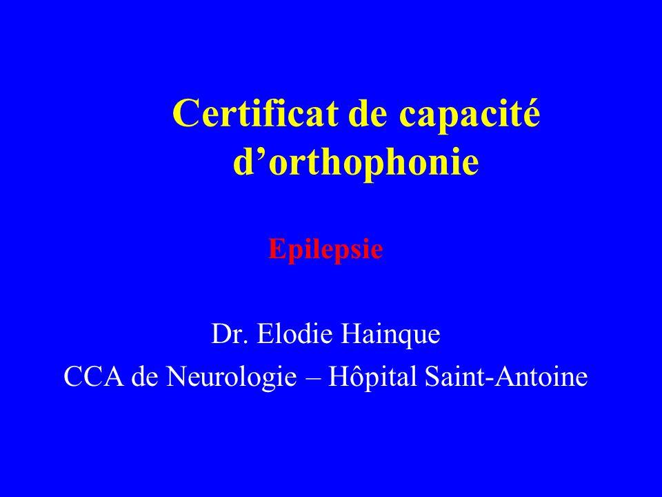 Certificat de capacité d'orthophonie