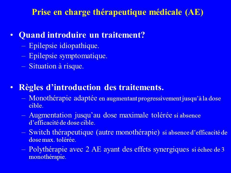 Prise en charge thérapeutique médicale (AE)