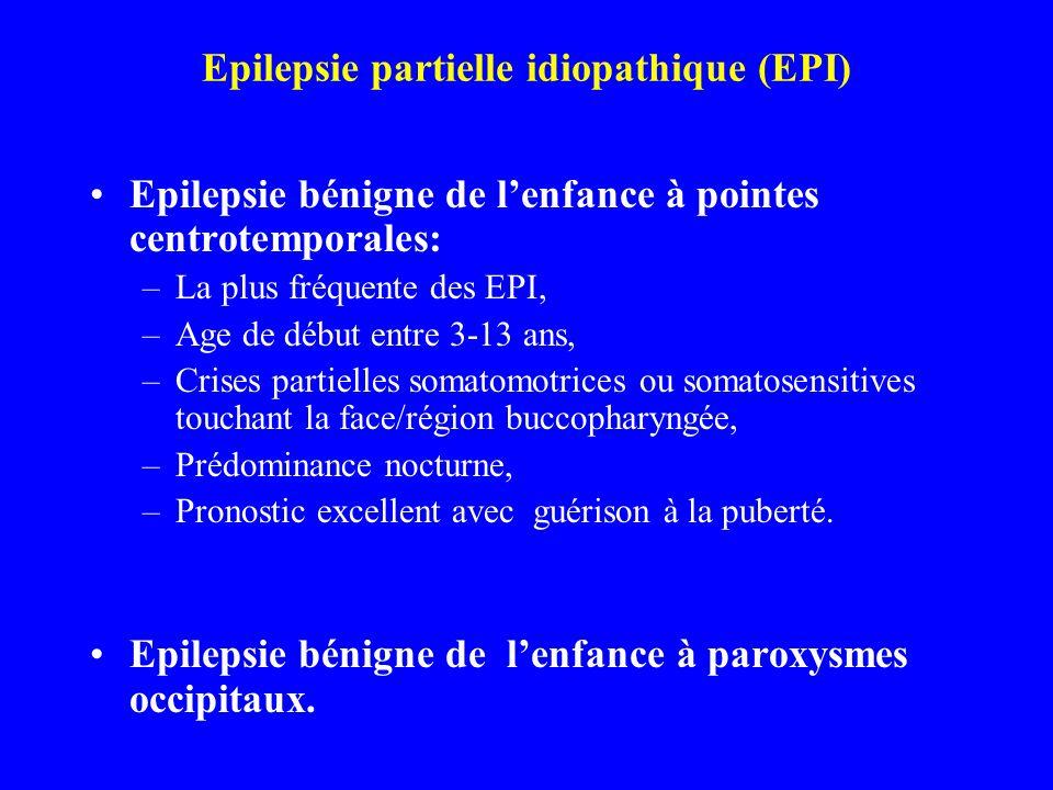 Epilepsie partielle idiopathique (EPI)