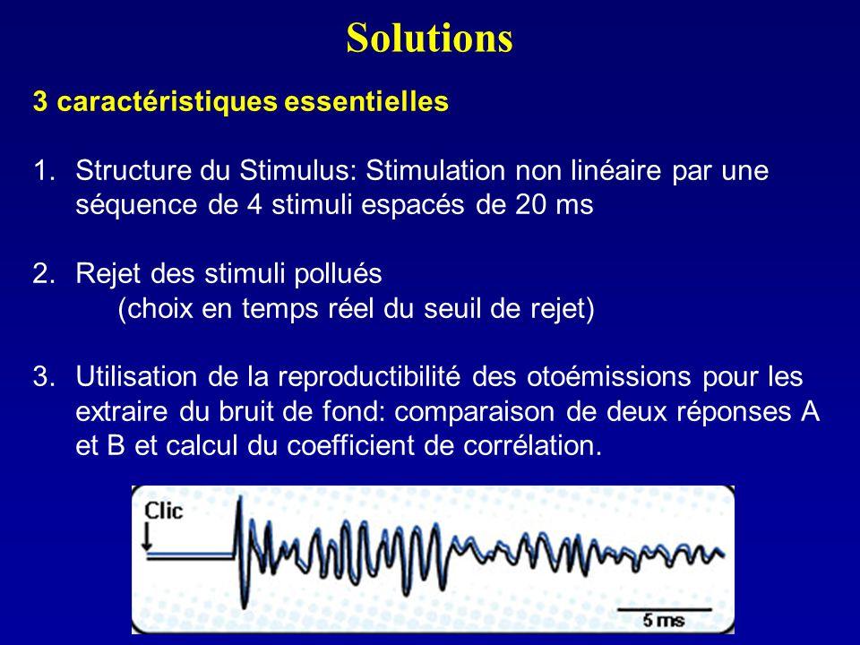 Solutions 3 caractéristiques essentielles