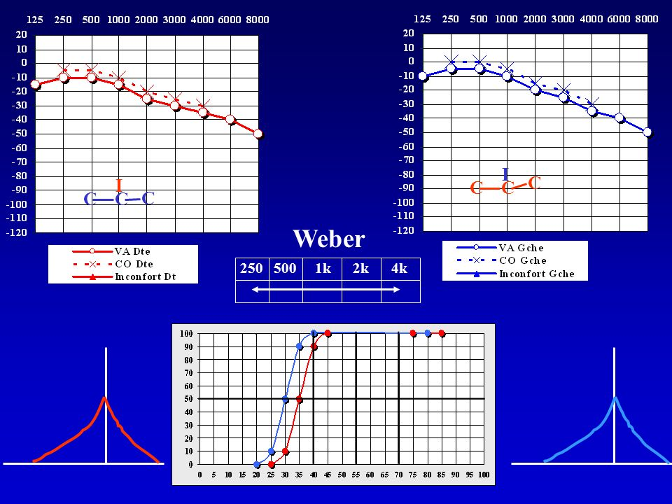 I I C C C C C C Weber 250 500 1k 2k 4k