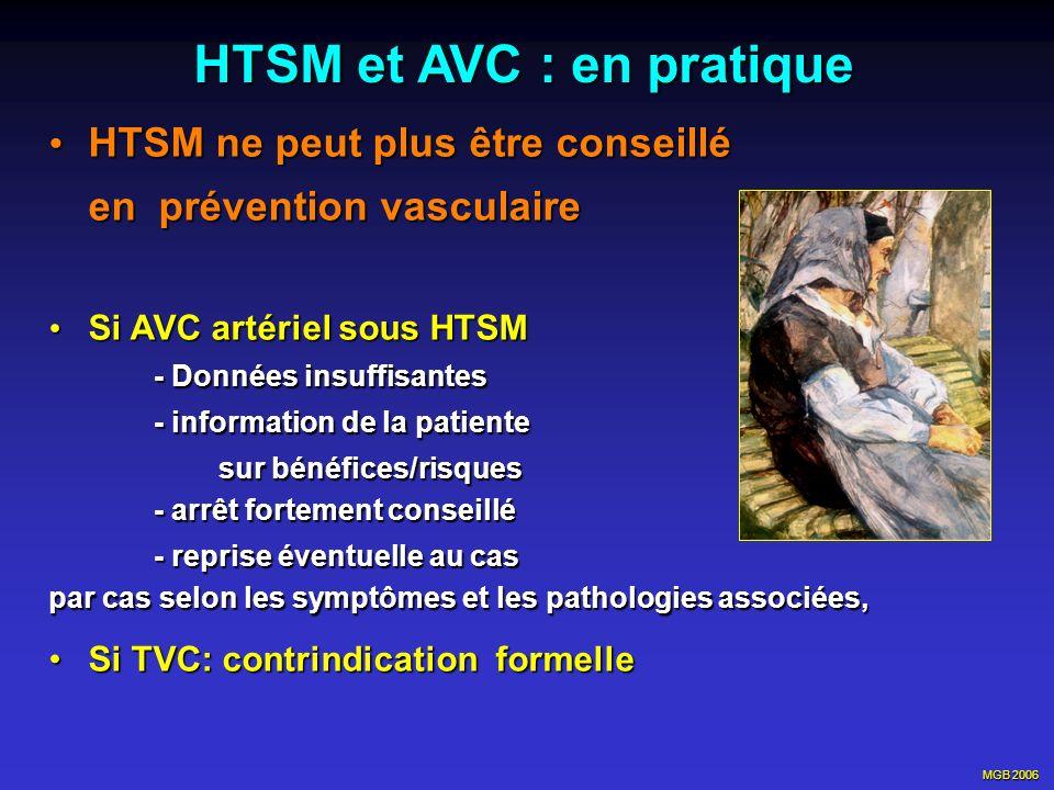 HTSM et AVC : en pratique