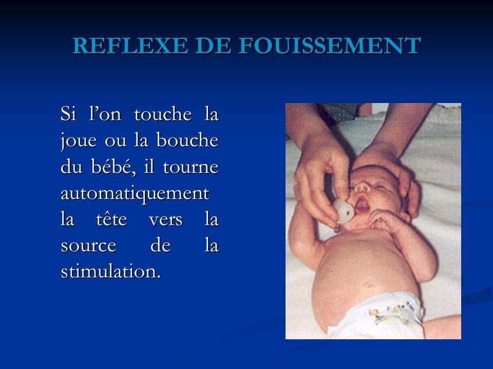 REFLEXE DE FOUISSEMENT