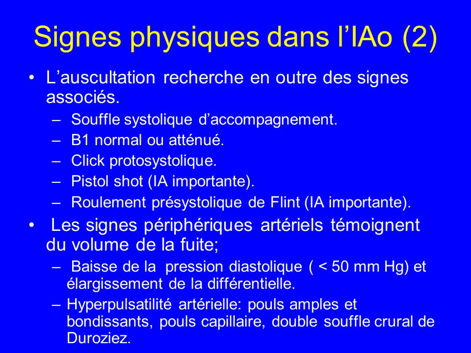 Signes physiques dans l'IAo (2)