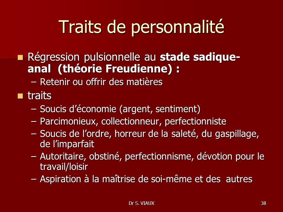Traits de personnalité