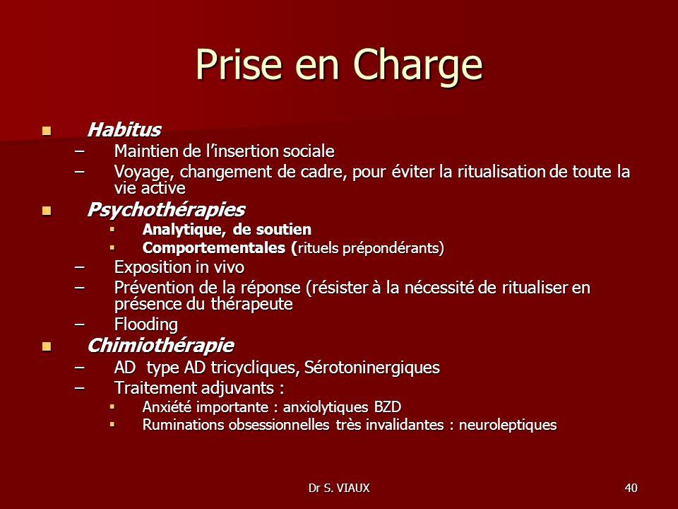Prise en Charge Habitus Psychothérapies Chimiothérapie