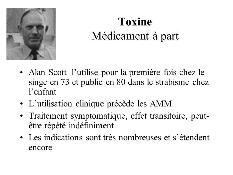 Toxine Médicament à part
