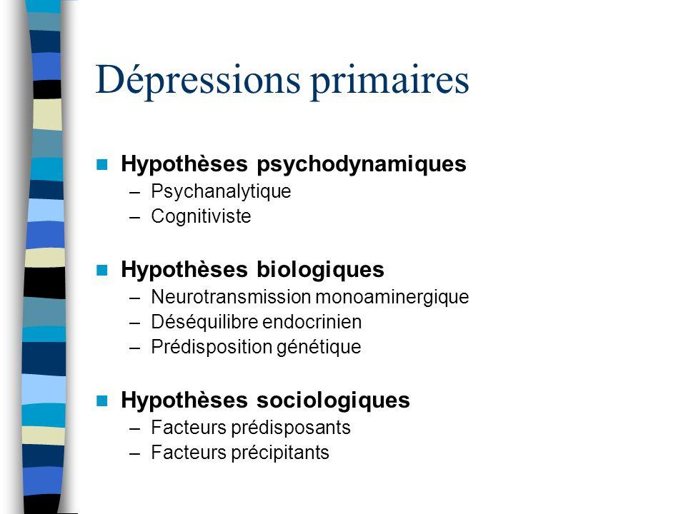 Dépressions primaires