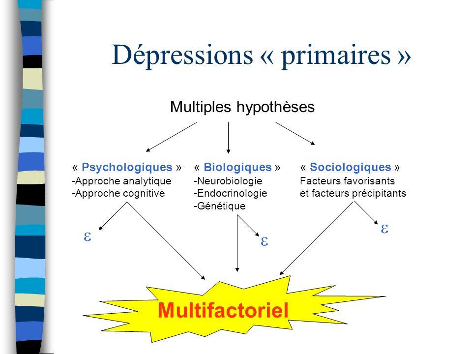Dépressions « primaires »