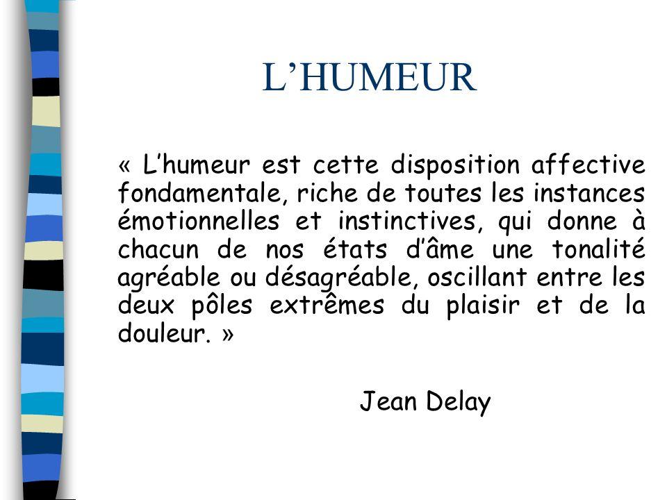 L'HUMEUR