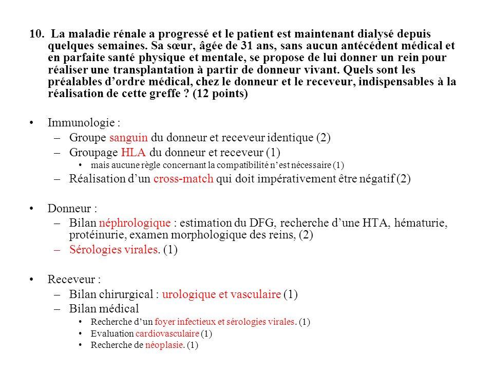 Groupe sanguin du donneur et receveur identique (2)