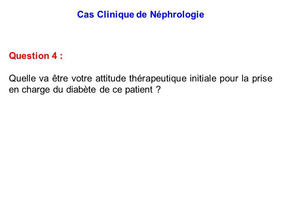 Cas Clinique de Néphrologie
