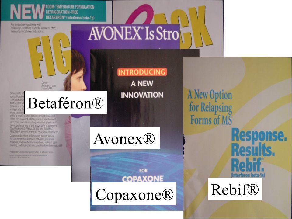 Betaféron® Avonex® Rebif® Copaxone®