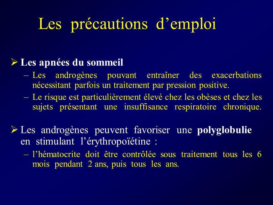 Les précautions d'emploi
