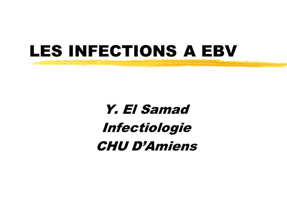 Y. El Samad Infectiologie CHU D'Amiens