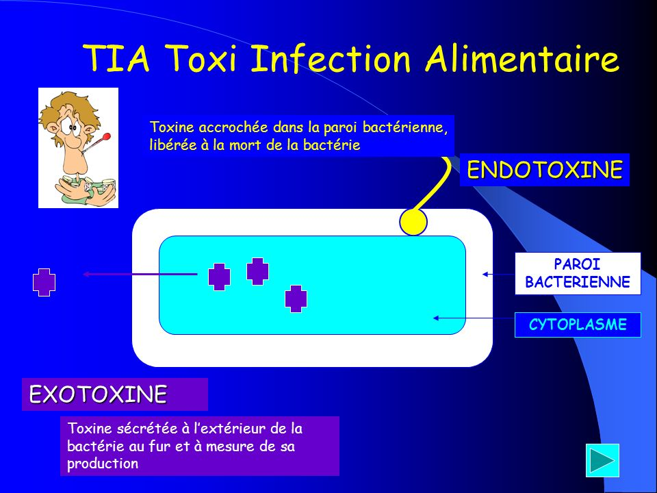 TIA Toxi Infection Alimentaire