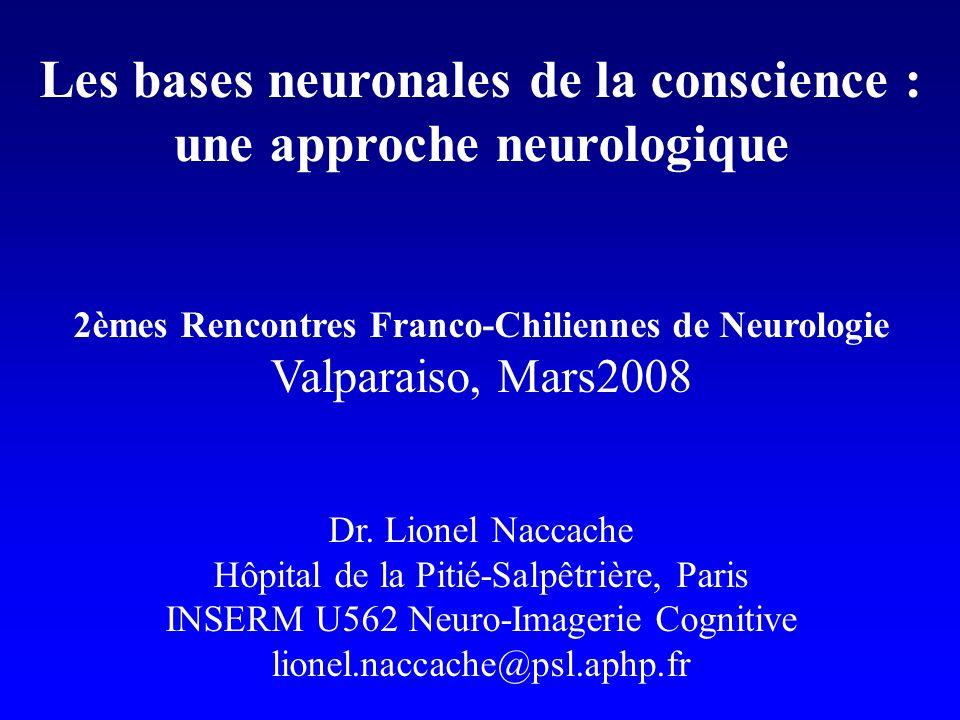 Les bases neuronales de la conscience : une approche neurologique