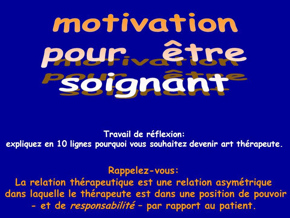 motivation pour être soignant