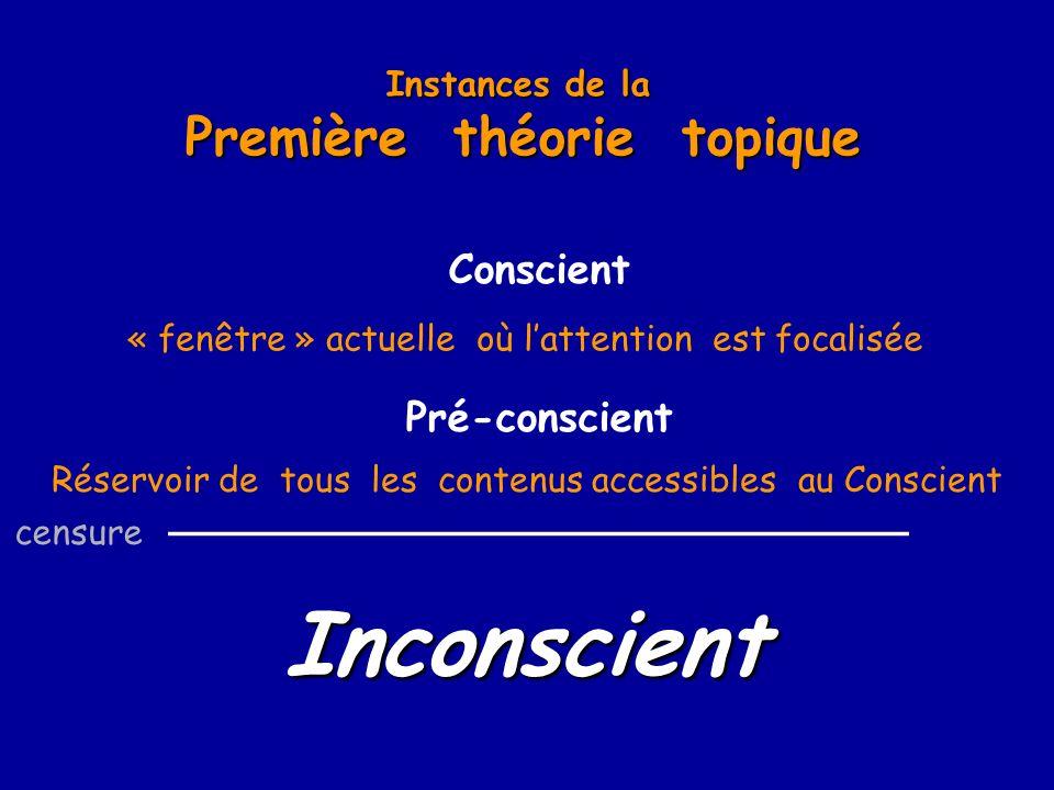 Première théorie topique _____________________________