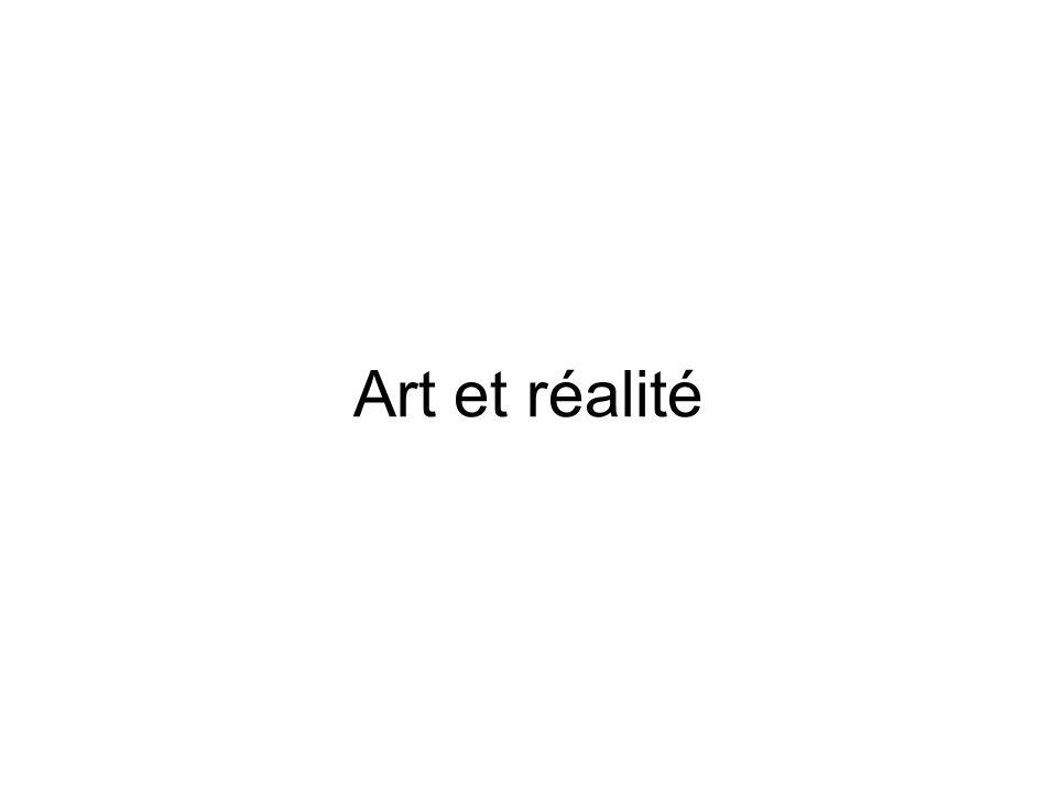 Art et réalité