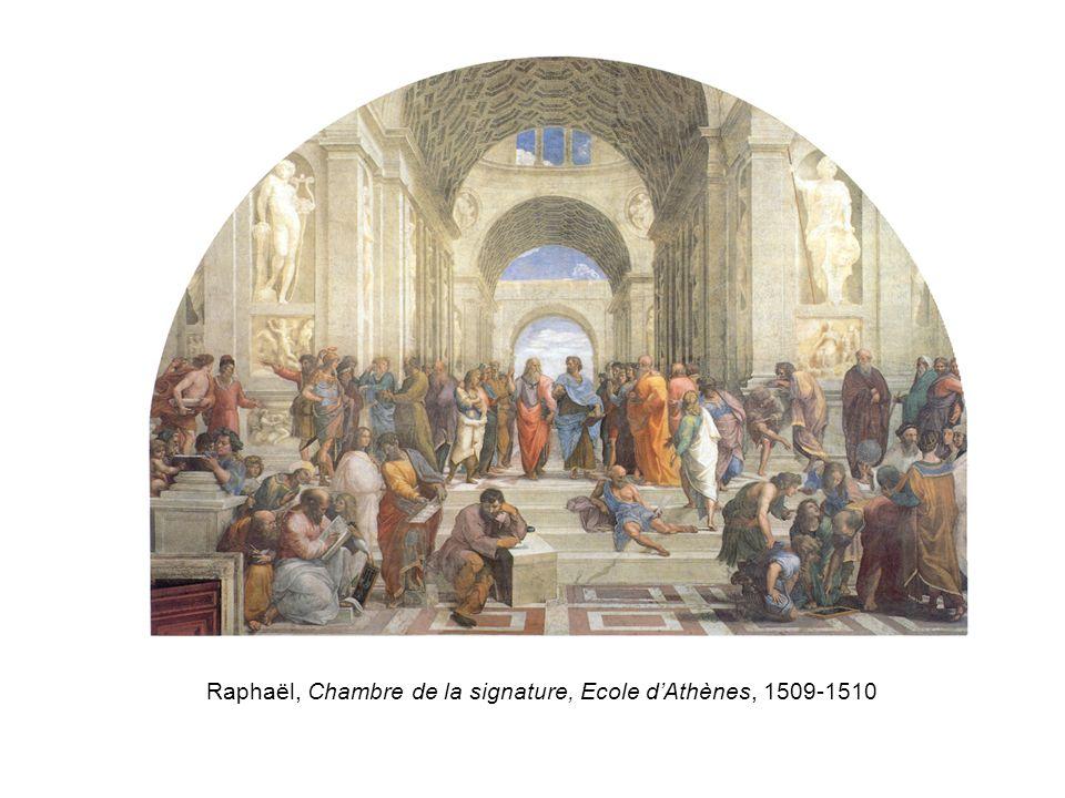 Raphaël, Chambre de la signature, Ecole d'Athènes, 1509-1510