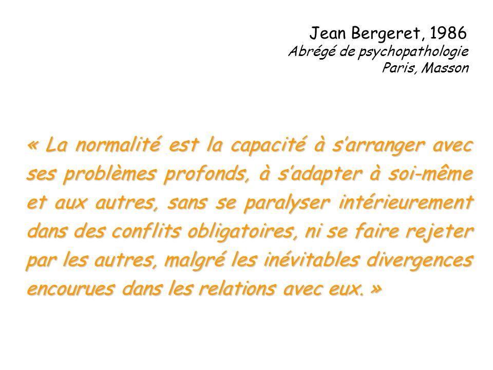 Jean Bergeret, 1986 Abrégé de psychopathologie. Paris, Masson.