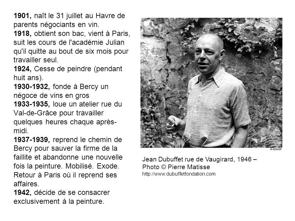 1901, naît le 31 juillet au Havre de parents négociants en vin