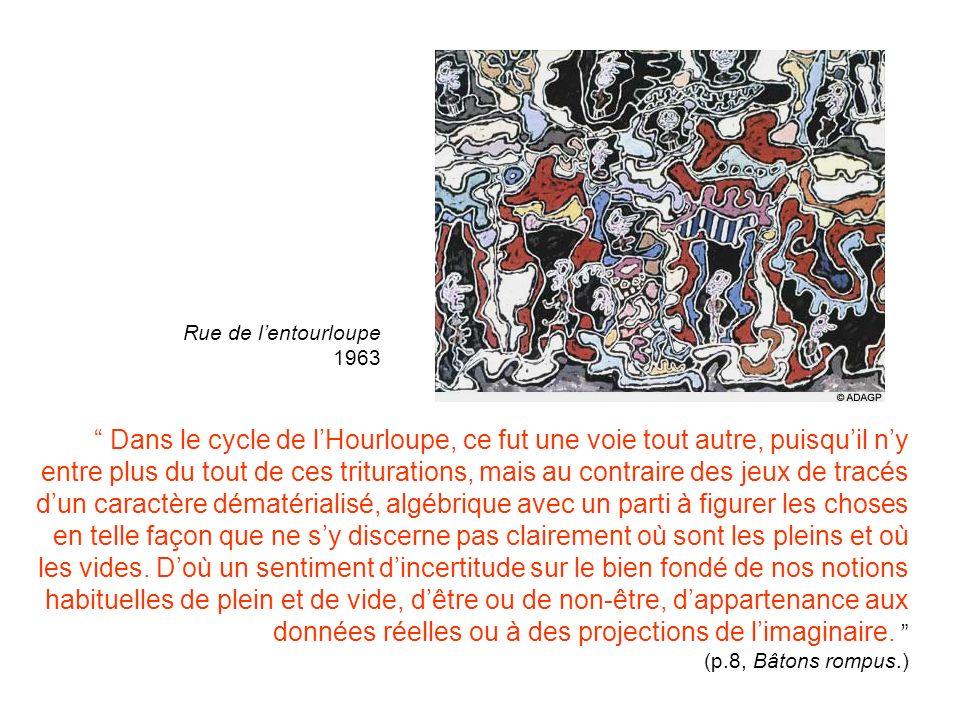 Rue de l'entourloupe 1963.