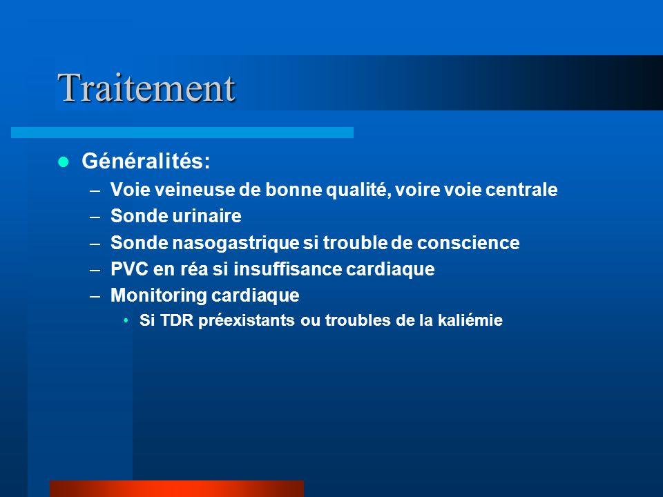 Traitement Généralités: