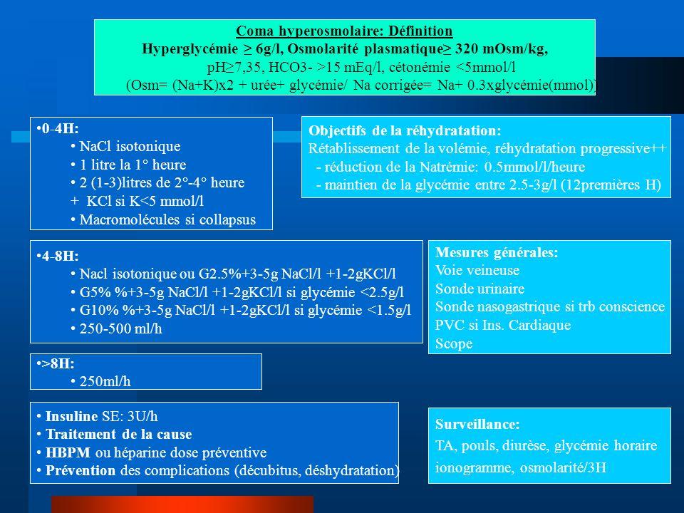 Coma hyperosmolaire: Définition