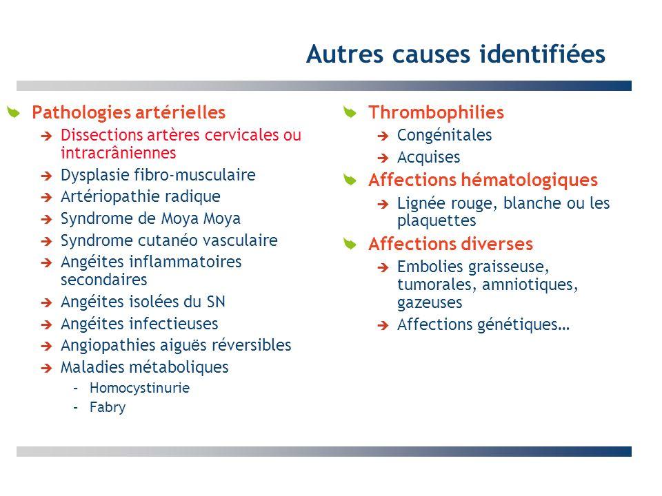 Autres causes identifiées