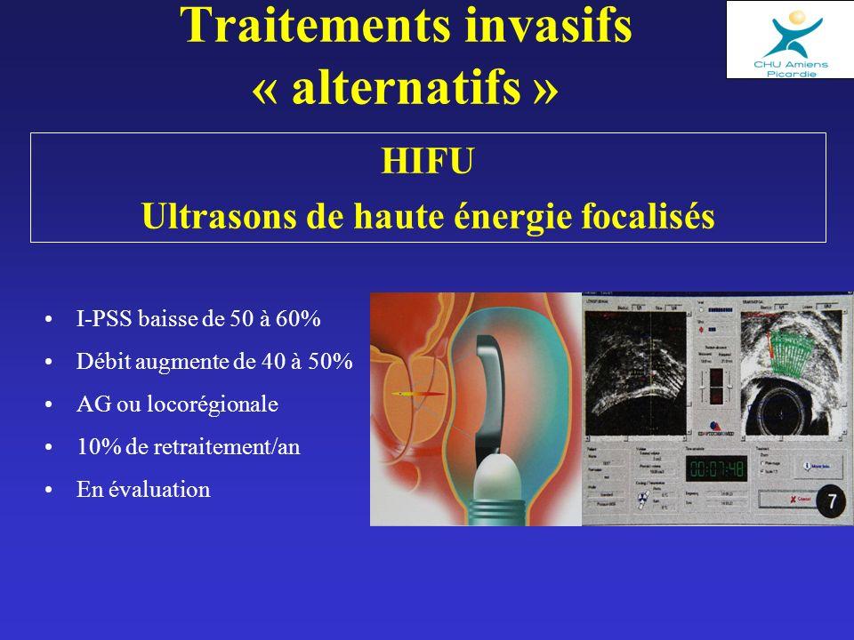 Traitements invasifs « alternatifs »