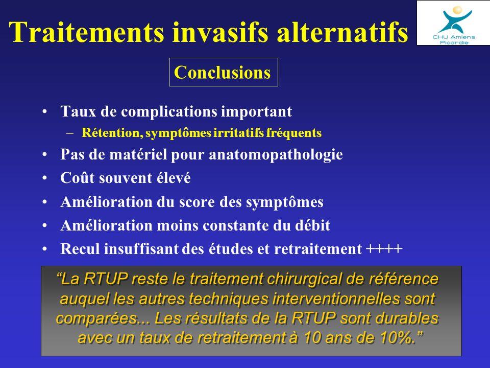 Traitements invasifs alternatifs