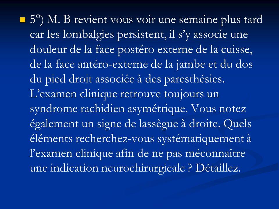 5°) M.