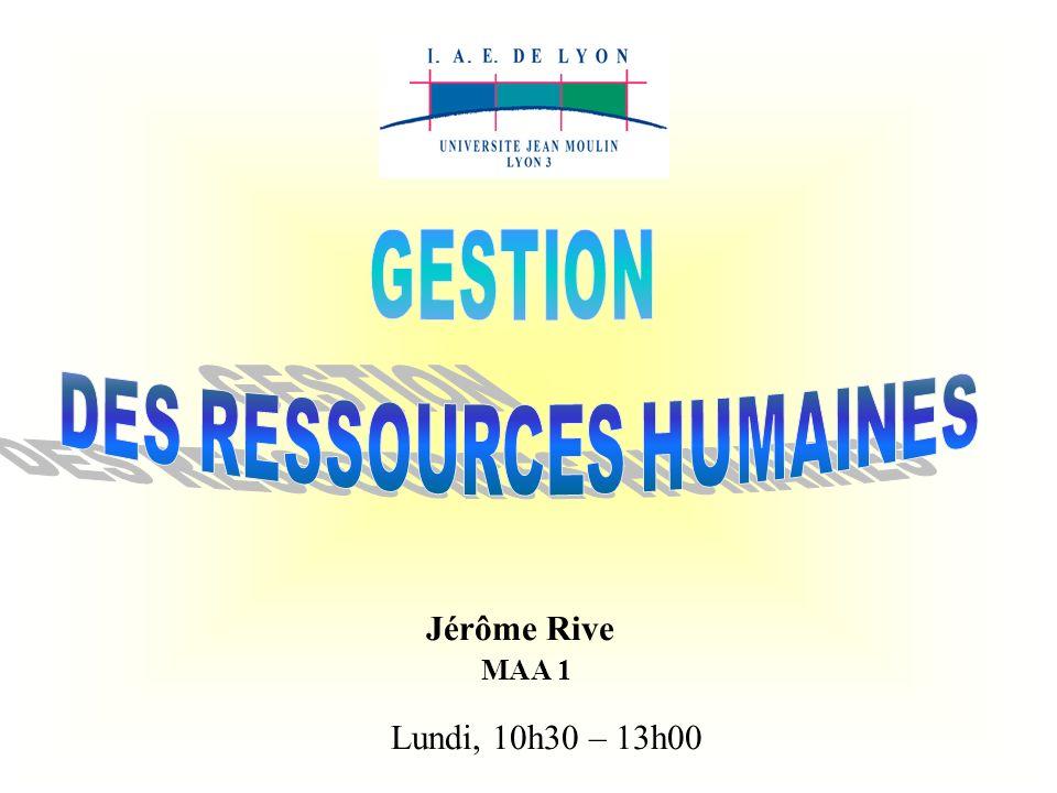 DES RESSOURCES HUMAINES