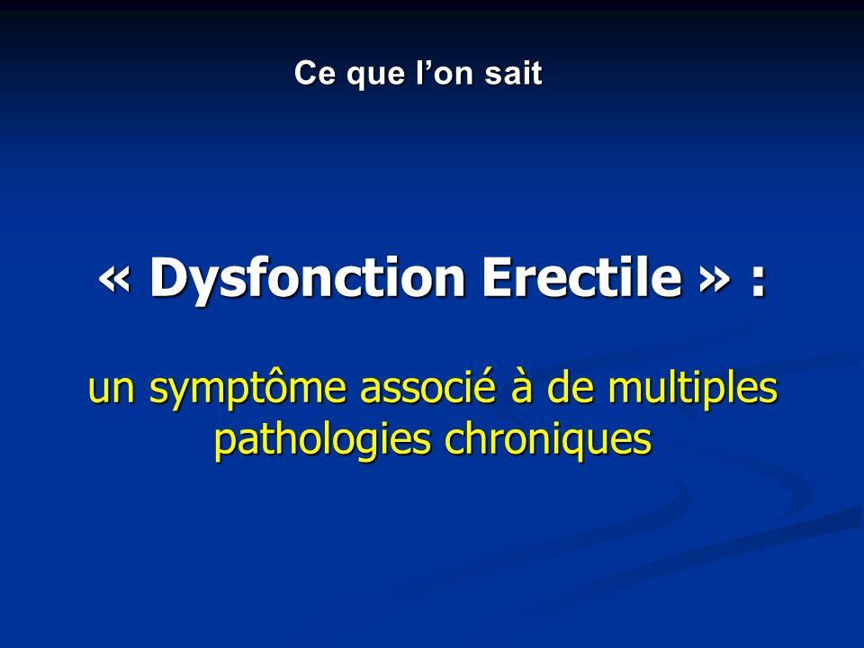 « Dysfonction Erectile » :