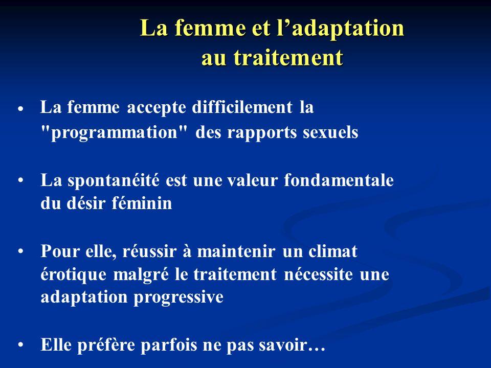 La femme et l'adaptation