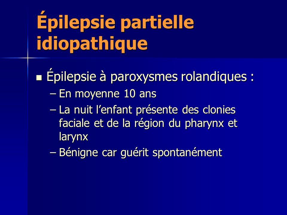 Épilepsie partielle idiopathique