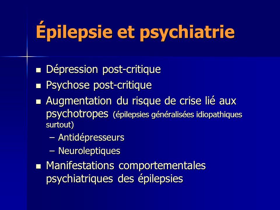 Épilepsie et psychiatrie