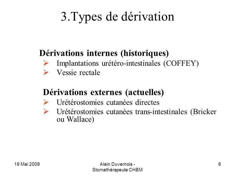 Alain Duvernois - Stomathérapeute CHBM
