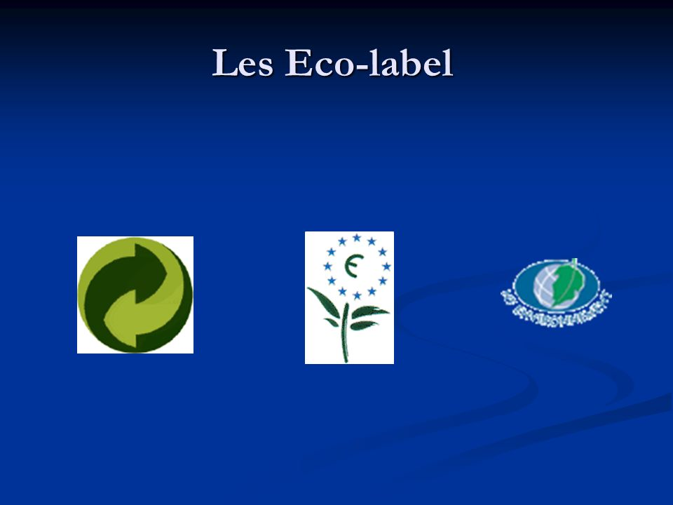 Les Eco-label