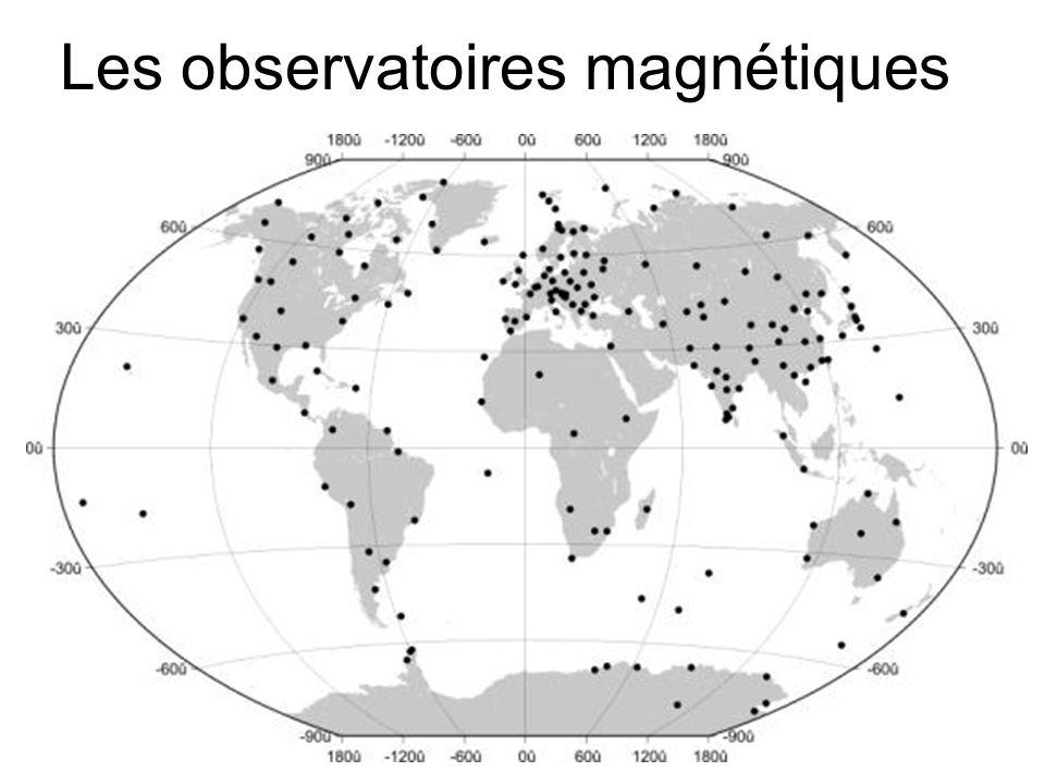 Les observatoires magnétiques