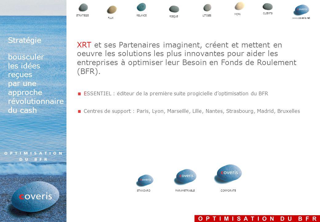 XRT et ses Partenaires imaginent, créent et mettent en oeuvre les solutions les plus innovantes pour aider les entreprises à optimiser leur Besoin en Fonds de Roulement (BFR).