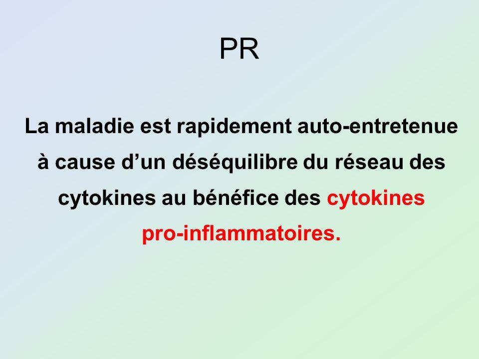 PR La maladie est rapidement auto-entretenue