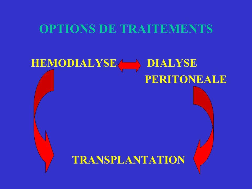 OPTIONS DE TRAITEMENTS