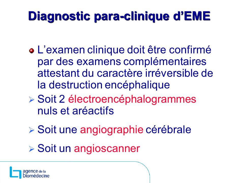 Diagnostic para-clinique d'EME