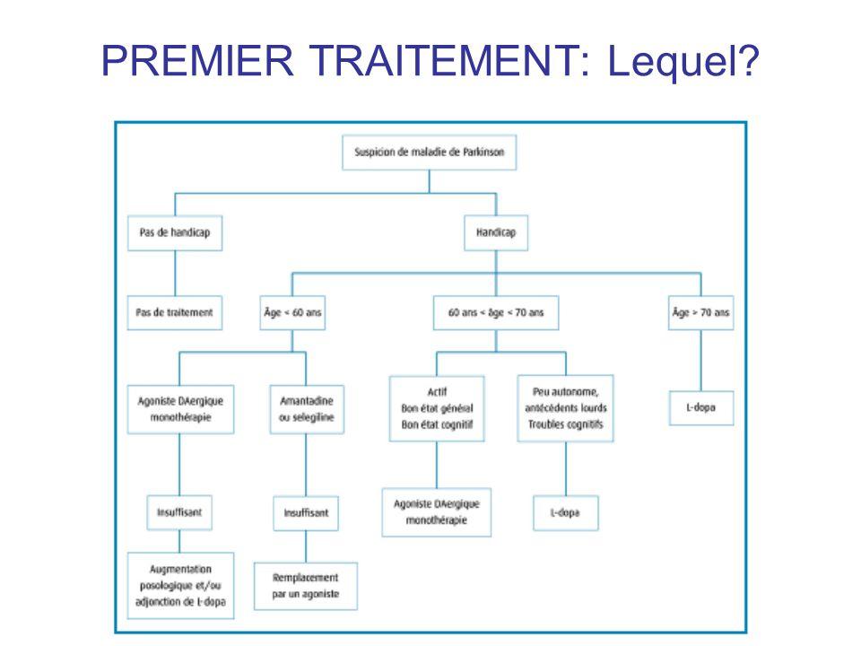 PREMIER TRAITEMENT: Lequel