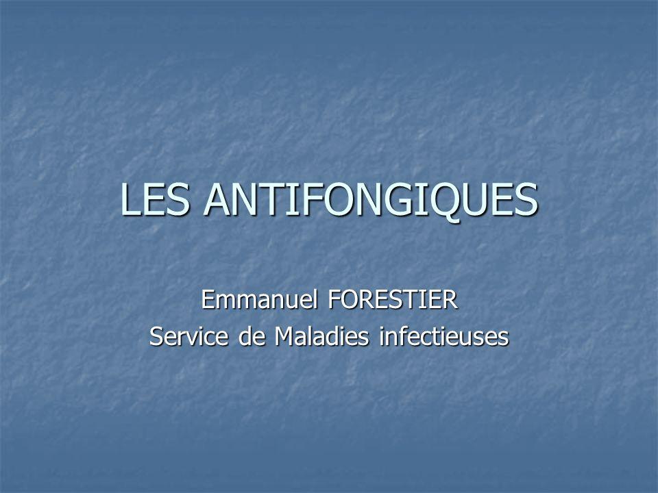 Emmanuel FORESTIER Service de Maladies infectieuses