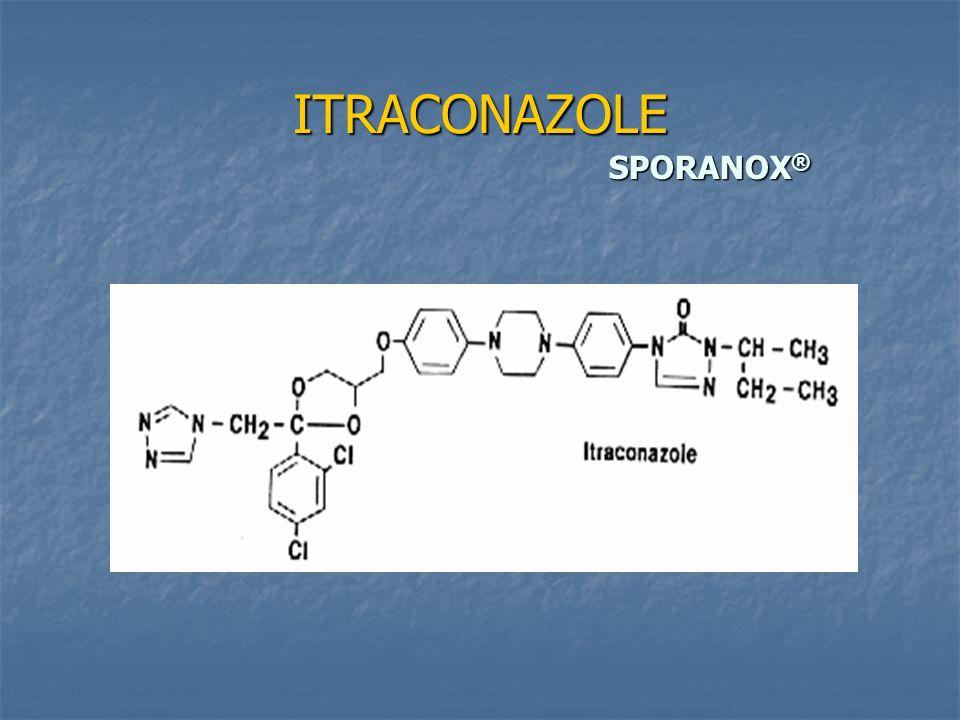 ITRACONAZOLE SPORANOX®